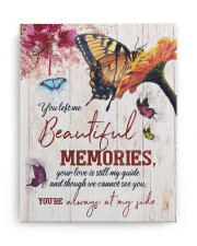 FAM10115CV - You Left Me Beautiful Memories 11x14 Gallery Wrapped Canvas Prints aos-canvas-pgw-11x14-ghosted-front-02