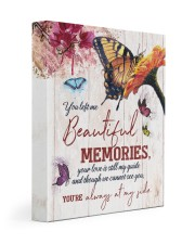 FAM10115CV - You Left Me Beautiful Memories 11x14 Gallery Wrapped Canvas Prints front