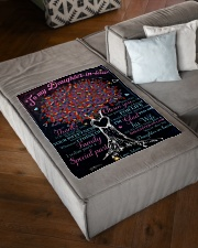 """FBC10019 - Daughter In Law Small Fleece Blanket - 30"""" x 40"""" aos-coral-fleece-blanket-30x40-lifestyle-front-03"""