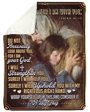 JES10041BL - Jesus Christ  Sherpa Fleece Blanket tile