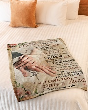 """BL10027 - My Beloved Husband Once Upon A Time Small Fleece Blanket - 30"""" x 40"""" aos-coral-fleece-blanket-30x40-lifestyle-front-01"""