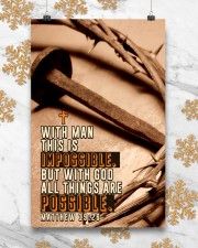 JES10027PT - Jesus Christ All Things Possible 11x17 Poster aos-poster-portrait-11x17-lifestyle-25