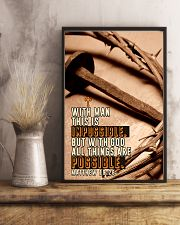 JES10027PT - Jesus Christ All Things Possible 11x17 Poster lifestyle-poster-3