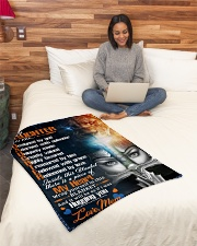 """Jes10084 - Daughter Designed By God Small Fleece Blanket - 30"""" x 40"""" aos-coral-fleece-blanket-30x40-lifestyle-front-08"""