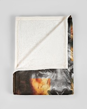 """JES10099 - You Are A Daughter Of God Small Fleece Blanket - 30"""" x 40"""" aos-coral-fleece-blanket-30x40-lifestyle-front-17"""