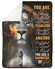 JES10099 - You Are A Daughter Of God Sherpa Fleece Blanket tile
