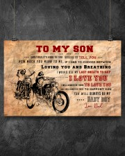 CV10003 - To My Son Motor Letter 17x11 Poster aos-poster-landscape-17x11-lifestyle-12