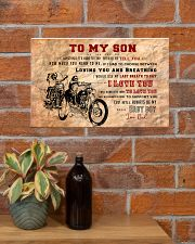 CV10003 - To My Son Motor Letter 17x11 Poster poster-landscape-17x11-lifestyle-23