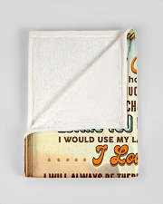 """BL10067 - To My Son Mom Letter Small Fleece Blanket - 30"""" x 40"""" aos-coral-fleece-blanket-30x40-lifestyle-front-17"""