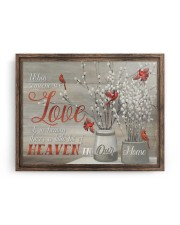 FAM10112CV - Someone We Love Is In Heaven 14x11 Gallery Wrapped Canvas Prints aos-canvas-pgw-14x11-ghosted-front-02