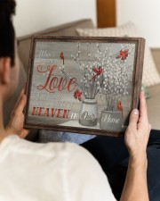 FAM10112CV - Someone We Love Is In Heaven 14x11 Gallery Wrapped Canvas Prints aos-canvas-pgw-14x11-lifestyle-front-29