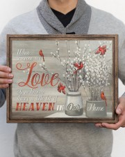FAM10112CV - Someone We Love Is In Heaven 14x11 Gallery Wrapped Canvas Prints aos-canvas-pgw-14x11-lifestyle-front-30