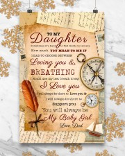 CV10021 - To My Daughter Old Postcard Dad Letter 11x17 Poster aos-poster-portrait-11x17-lifestyle-25
