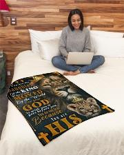 "JES10051BL - Jesus Christ  Small Fleece Blanket - 30"" x 40"" aos-coral-fleece-blanket-30x40-lifestyle-front-08"