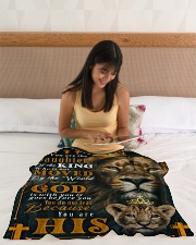"JES10051BL - Jesus Christ  Small Fleece Blanket - 30"" x 40"" aos-coral-fleece-blanket-30x40-lifestyle-front-12"