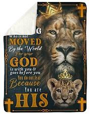 JES10051BL - Jesus Christ  Sherpa Fleece Blanket tile