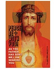 JES10011PT - Jesus Christ Peace Be With You 11x17 Poster front