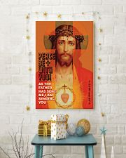 JES10011PT - Jesus Christ Peace Be With You 11x17 Poster lifestyle-holiday-poster-3