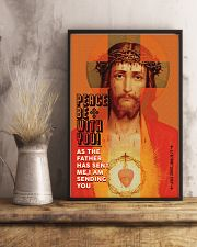 JES10011PT - Jesus Christ Peace Be With You 11x17 Poster lifestyle-poster-3