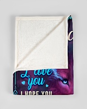 """BL10056N - To My Charlotte Dad Letter Small Fleece Blanket - 30"""" x 40"""" aos-coral-fleece-blanket-30x40-lifestyle-front-17"""