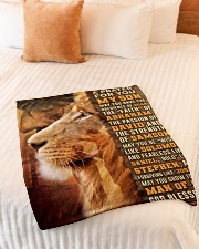 """JES10082BL - A Prayer For My Son Small Fleece Blanket - 30"""" x 40"""" aos-coral-fleece-blanket-30x40-lifestyle-front-01"""