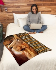 """JES10082BL - A Prayer For My Son Small Fleece Blanket - 30"""" x 40"""" aos-coral-fleece-blanket-30x40-lifestyle-front-08"""