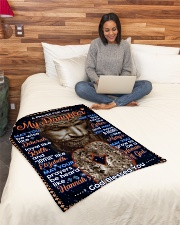 """JES10059BL -  A Prayer For Daughter Small Fleece Blanket - 30"""" x 40"""" aos-coral-fleece-blanket-30x40-lifestyle-front-08"""