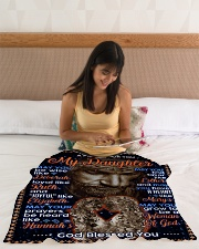 """JES10059BL -  A Prayer For Daughter Small Fleece Blanket - 30"""" x 40"""" aos-coral-fleece-blanket-30x40-lifestyle-front-12"""