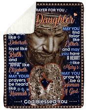 JES10059BL -  A Prayer For Daughter Sherpa Fleece Blanket tile