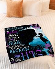 "JES10047BL - Jesus Christ  Small Fleece Blanket - 30"" x 40"" aos-coral-fleece-blanket-30x40-lifestyle-front-01"