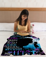"JES10047BL - Jesus Christ  Small Fleece Blanket - 30"" x 40"" aos-coral-fleece-blanket-30x40-lifestyle-front-12"