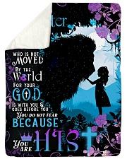 JES10047BL - Jesus Christ  Sherpa Fleece Blanket tile
