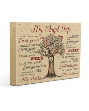 CV10002-2 - My Angel Wife Cardinals Gallery Wrapped Canvas Prints tile