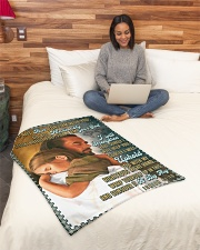 "JES10044BL - Jesus Christ  Small Fleece Blanket - 30"" x 40"" aos-coral-fleece-blanket-30x40-lifestyle-front-08"