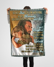 "JES10044BL - Jesus Christ  Small Fleece Blanket - 30"" x 40"" aos-coral-fleece-blanket-30x40-lifestyle-front-14"