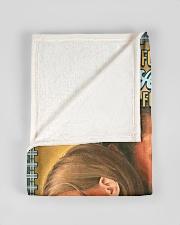 "JES10044BL - Jesus Christ  Small Fleece Blanket - 30"" x 40"" aos-coral-fleece-blanket-30x40-lifestyle-front-17"