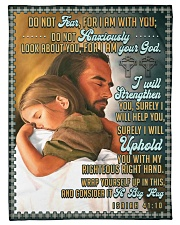 "JES10044BL - Jesus Christ  Small Fleece Blanket - 30"" x 40"" front"