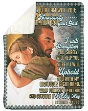 JES10044BL - Jesus Christ  Sherpa Fleece Blanket tile