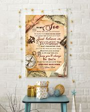 CV10009 - To My Son Old Postcard Dad Letter 11x17 Poster lifestyle-holiday-poster-3