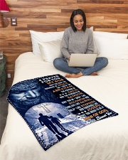 """JES10078BL - A Prayer For My Son Small Fleece Blanket - 30"""" x 40"""" aos-coral-fleece-blanket-30x40-lifestyle-front-08"""