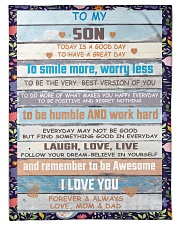 """FBC10029 - Son Today Is A Good Day Small Fleece Blanket - 30"""" x 40"""" front"""