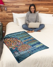 """BL10025 - My Granddaughter I Want You To Believe Small Fleece Blanket - 30"""" x 40"""" aos-coral-fleece-blanket-30x40-lifestyle-front-08"""