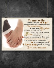 CV10001-2 - To My Wife Forever Always 17x11 Poster aos-poster-landscape-17x11-lifestyle-12