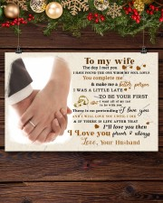 CV10001-2 - To My Wife Forever Always 17x11 Poster aos-poster-landscape-17x11-lifestyle-27