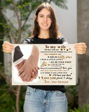 CV10001-2 - To My Wife Forever Always 17x11 Poster poster-landscape-17x11-lifestyle-19