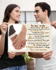 CV10001-2 - To My Wife Forever Always 17x11 Poster poster-landscape-17x11-lifestyle-20