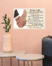 CV10001-2 - To My Wife Forever Always 17x11 Poster poster-landscape-17x11-lifestyle-21
