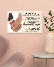 CV10001-2 - To My Wife Forever Always 17x11 Poster poster-landscape-17x11-lifestyle-22