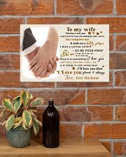 CV10001-2 - To My Wife Forever Always 17x11 Poster poster-landscape-17x11-lifestyle-23