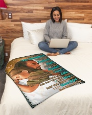 """JES10053BL -  A Prayer For Daughter Small Fleece Blanket - 30"""" x 40"""" aos-coral-fleece-blanket-30x40-lifestyle-front-08"""